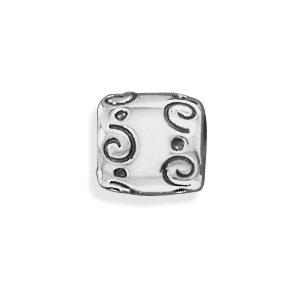Pandora Swirl and Dot Design Charm