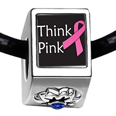 Pandora Think Pink Ribbon Charm