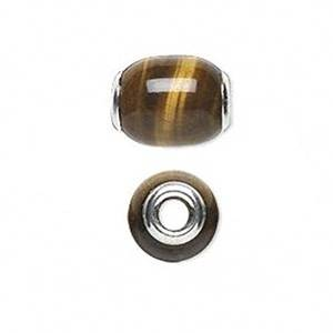 Pandora Tiger Eye Slide On Charm