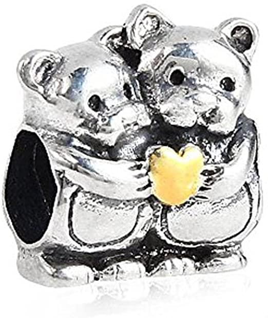 Pandora Twin Bears Charm
