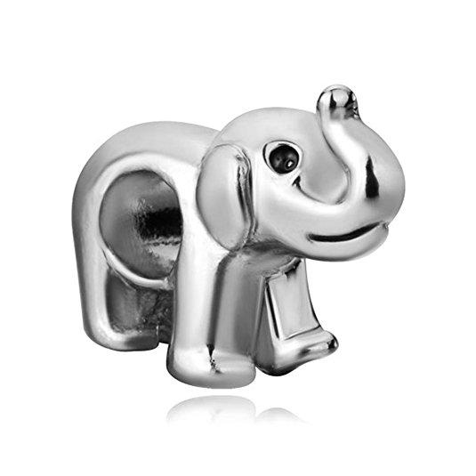 Pandora Walking Elephant Bead