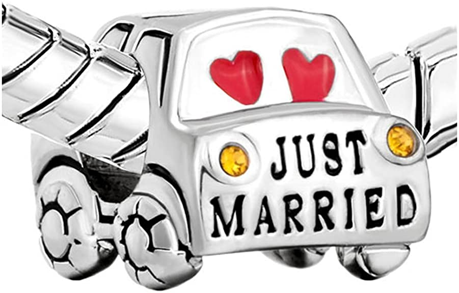 Pandora Wedding Car Charm