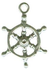 Pandora Wheel of Ship Nautical Pendant Charm