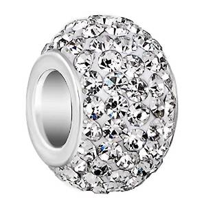 Pandora White Swarovski Crystal Charm