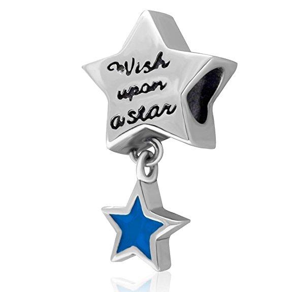 Pandora Wish Lucky Star Charm