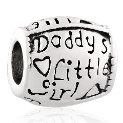 137447985 Pandora Words With Daddys Little Girl Love Charm | Buy Top Rated Charms
