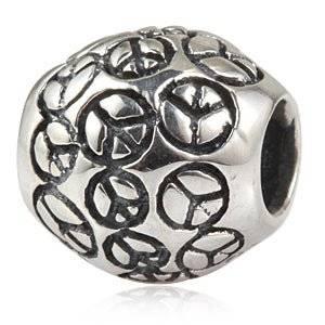 Pandora World Peace Love Joy Charm
