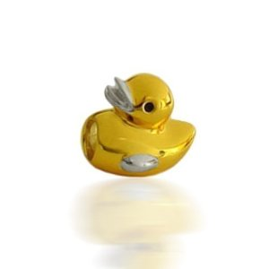 Pandora Yellow Ducky Bead
