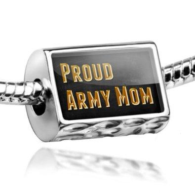 Proud Army Mom Pandora Bead