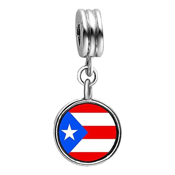 Puerto Rico Pandora Charm