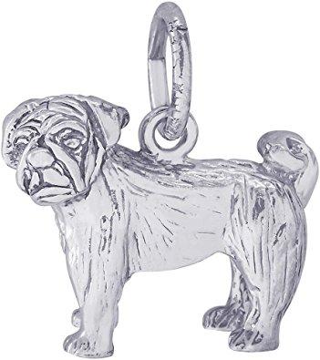 Rembrandt Pug Charm