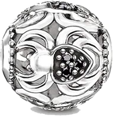 Spider With Her Web Pandora Dangle Charm