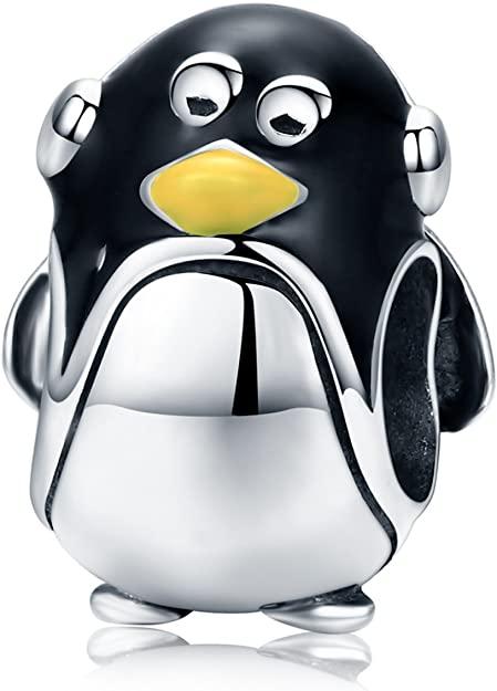 Standing Elder Penguin Pandora Charm