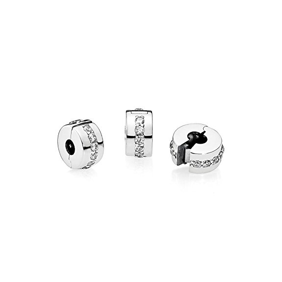 Sterling Silver Pandora Dogwood Clip Charm
