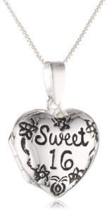 Sweet 16 Heart Dangle Pandora Charm