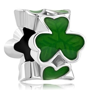 Three Leaf Clover Pandora Bead