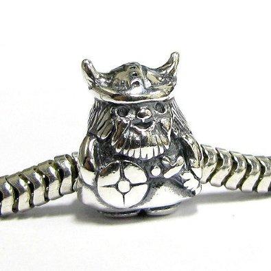 Viking Warrior Pirate Pandora Bead