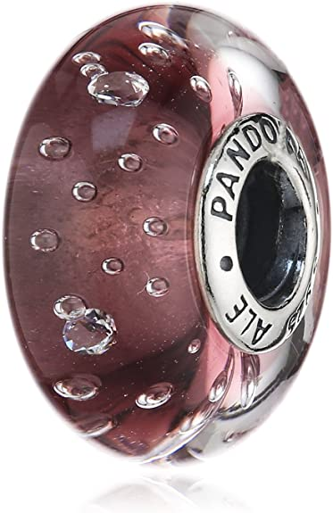 Wooden Glass Pandora Charm