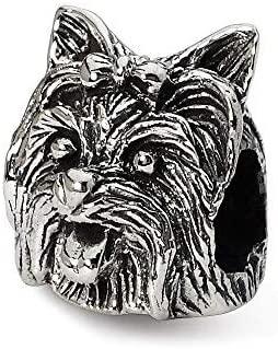 Yorkshire Terrier Dog Pandora Bead