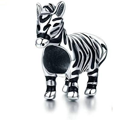 Zebra Pandora Charm